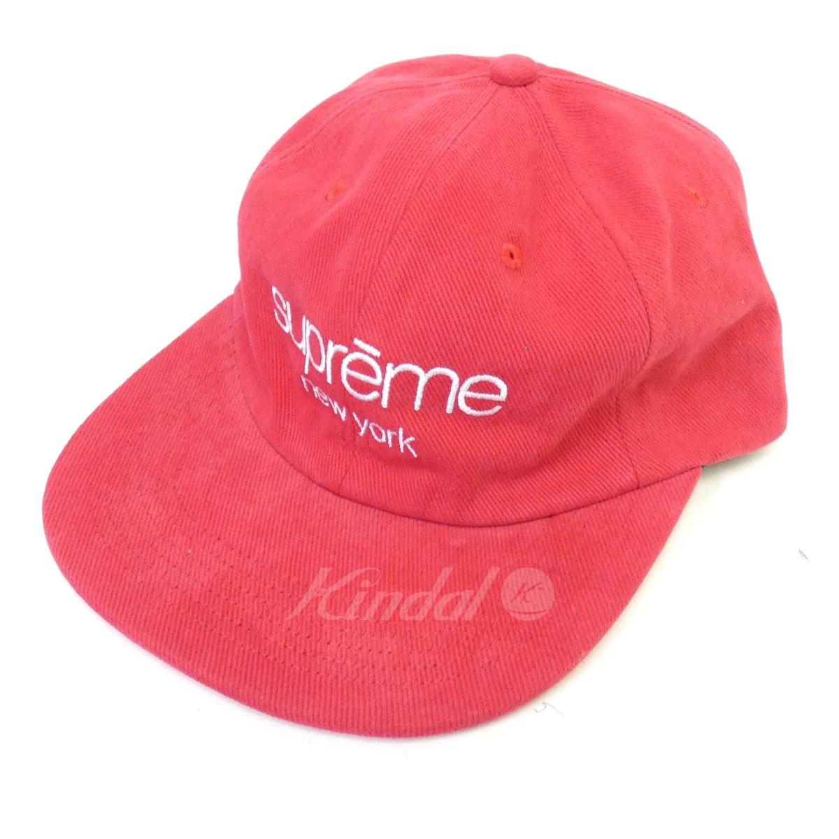 【中古】SUPREME 18SS「Classic Logo 6-Panel Cap」クラシックロゴキャップ 【送料無料】 【101526】 【KIND1550】