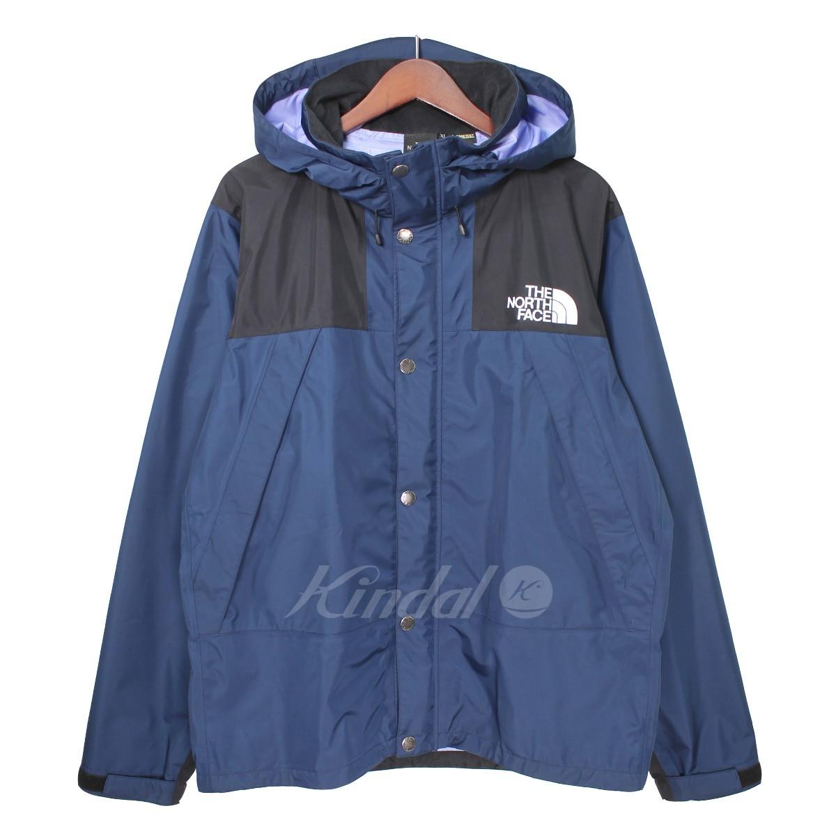 【中古】THE NORTH FACE Mountain Raintex Jacket マウンテンレインテックスジャケット ネイビー サイズ:XL 【送料無料】 【061018】(ザノースフェイス)