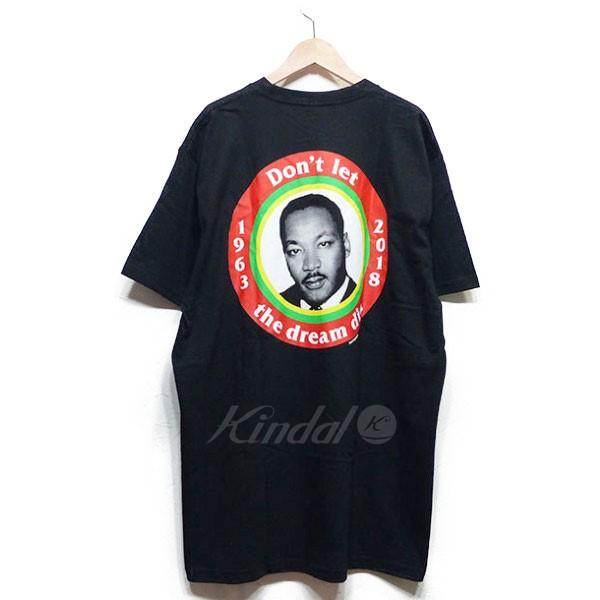 【中古】SUPREME シュプリーム 2018SS MLK Dream Tシャツ ブラック サイズ:L 【送料無料】 【061018】(シュプリーム)