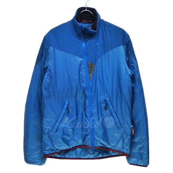 【中古】KLATTERMUSEN Hild Jacket リップストップナイロン 中綿 ジャケット ブルゾン ブルー サイズ:XS 【送料無料】 【061018】(クレッタルムーセン)