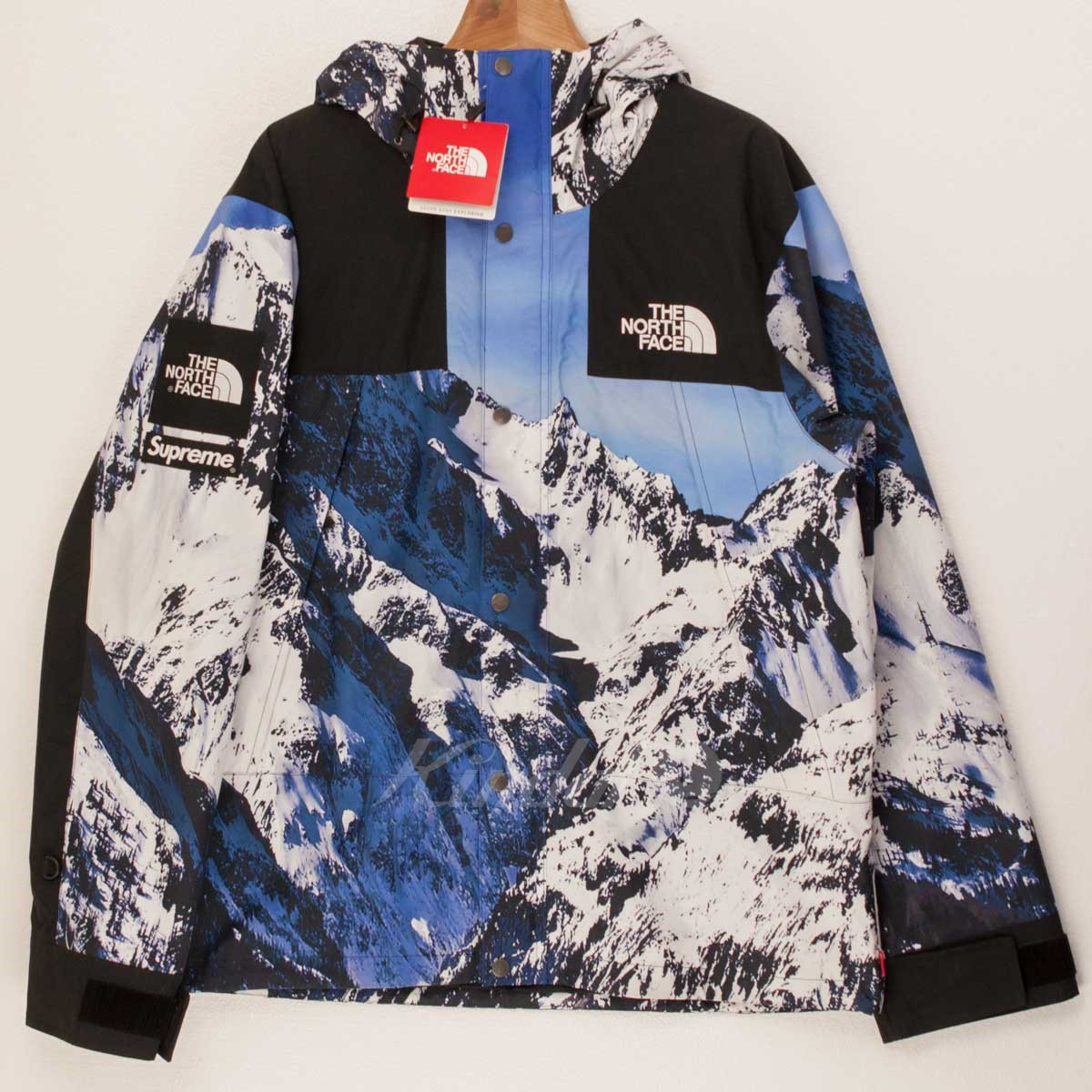 【中古】Supreme x The North Face 17AW Mountain Parka 【送料無料】 【003032】 【KIND1550】