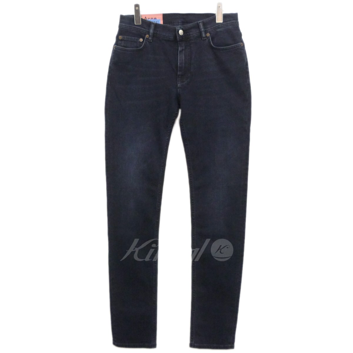 【中古】ACNE STUDIOS Bla konst 18AW「NORTH BLUE BLACK」ストレッチデニムパンツ 【送料無料】 【123202】 【KIND1641】