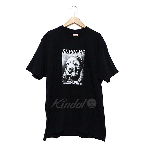 【中古】SUPREME 2018AW Remember Tee 【送料無料】 【238642】 【KIND1550】