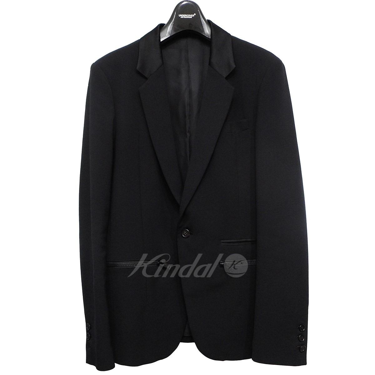 【中古】UNDER COVER 18SS DON'T WALK AWAY INSILENCE ZIPUPジャケット 【送料無料】 【001591】 【KIND1550】
