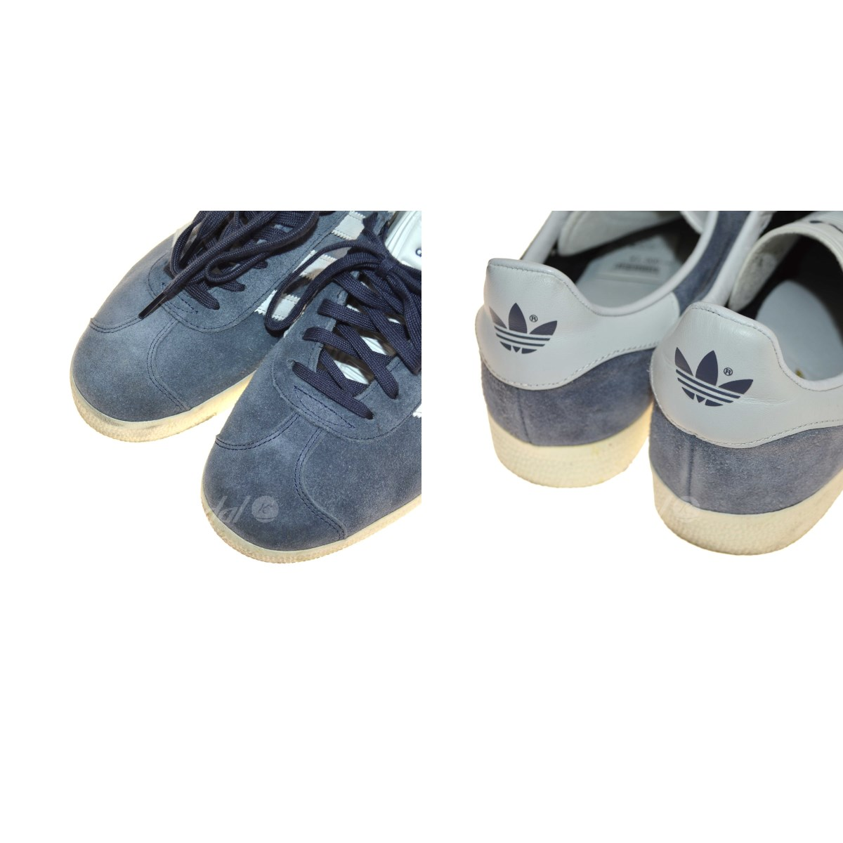 adidas GAZELLE suede sneakers gray size: 27. 5cm