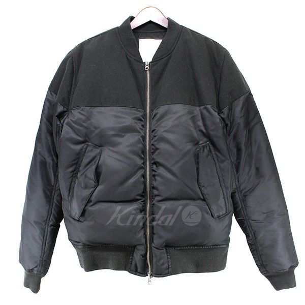 【中古】SATURDAYS SURF NYC 2015AW CHRISTO BOMBER MA-1 切替ボンバージャケット 【送料無料】 【000135】 【KIND1550】