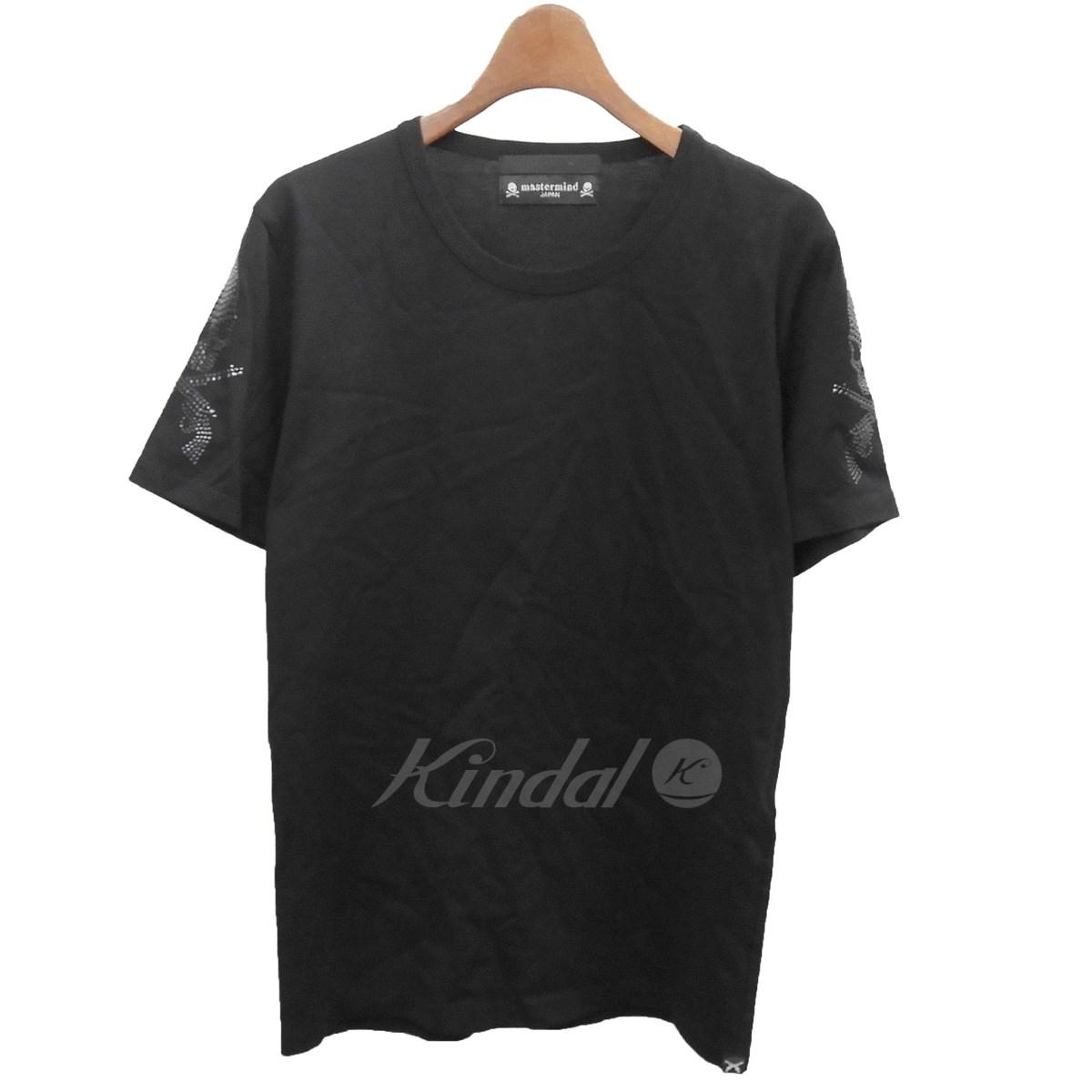 【中古】Mastermind JAPAN×roar 肩メタルTシャツ ブラック サイズ:2 【送料無料】 【141018】(マスターマインドジャパン×ロアー)