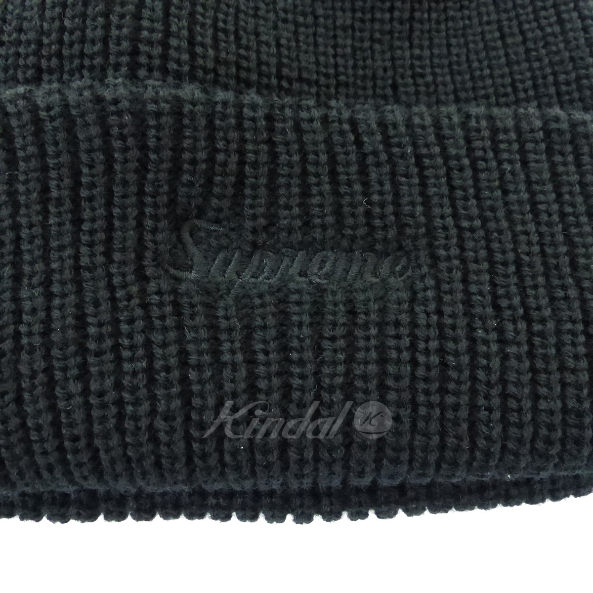 76aa889c466 ... canada supreme loose gauge beanie logo embroidery knit cap 2018a w  black size d64f0 eed0d