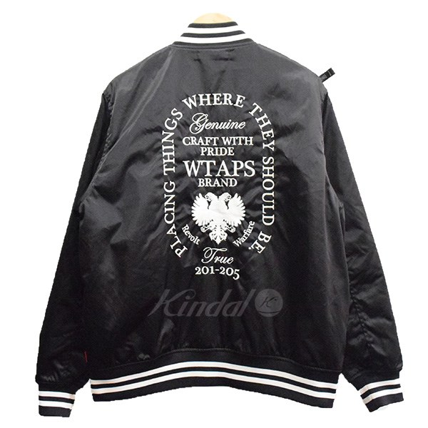 【中古】W)taps 17AW TEAM/JACKET.NYLON TWILL チームジャケット 【送料無料】 【002181】 【KIND1550】