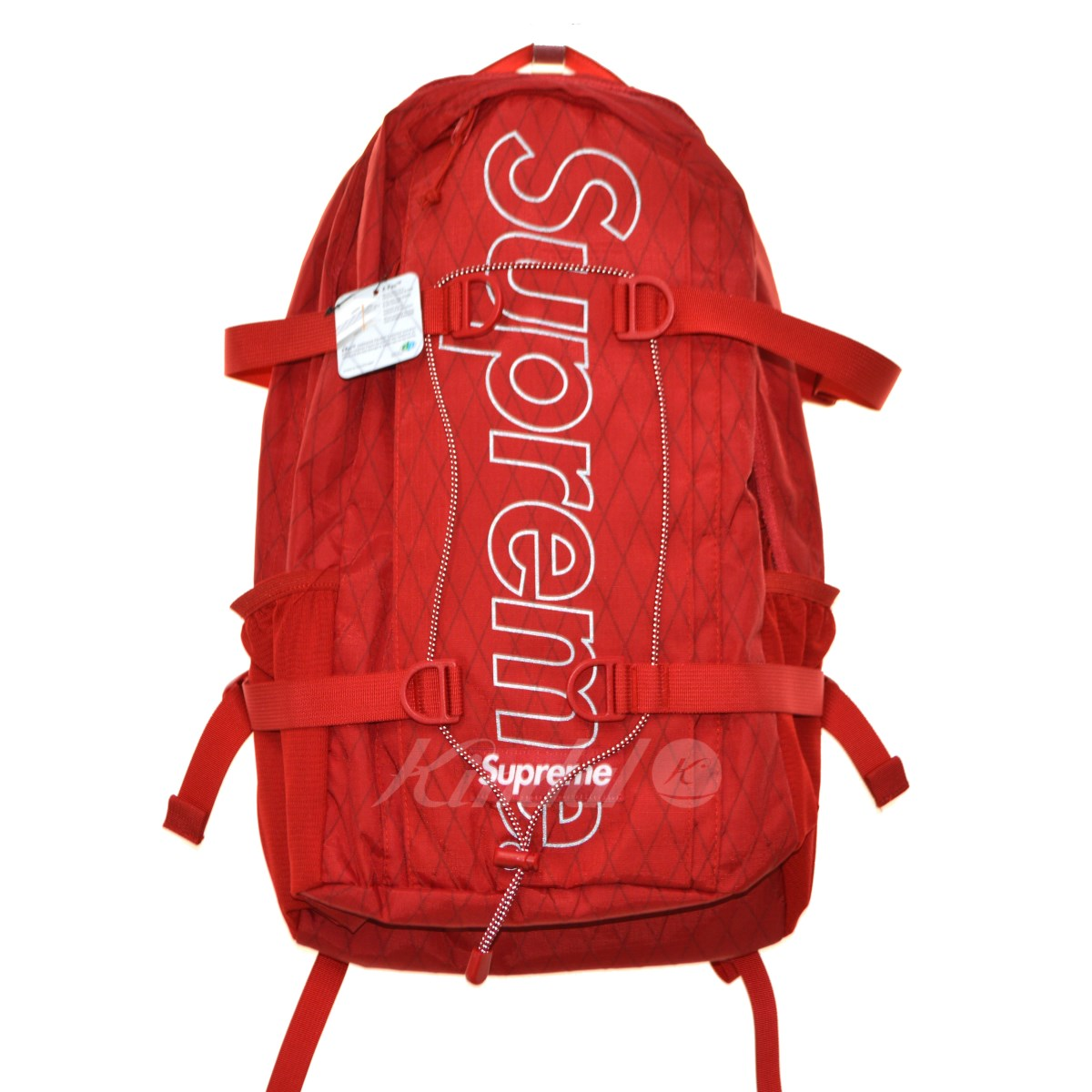 2bbe20a18290 【中古】SUPREME 18AW Back Pack バックパック レッド 【送料無料】 【171018