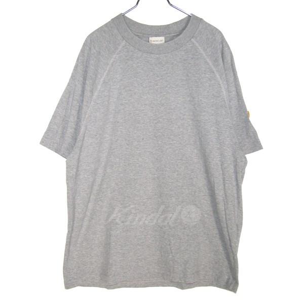【中古】MONCLER O Maglia T-Shirt/バックプリントTシャツ グレー サイズ:L 【送料無料】 【171018】(モンクレールオー)