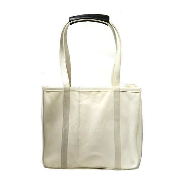 【中古】CHACOLI チャコリ Frame Collection FR02 キャンバストートバッグ ホワイト 【送料無料】 【171018】(チャコリ)