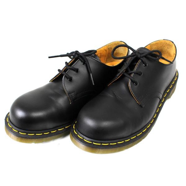 【中古】Dr.Martens 3ホールシューズ 1925 5400 ブラック サイズ:UK7(EU41) 【送料無料】 【171018】(ドクターマーチン)
