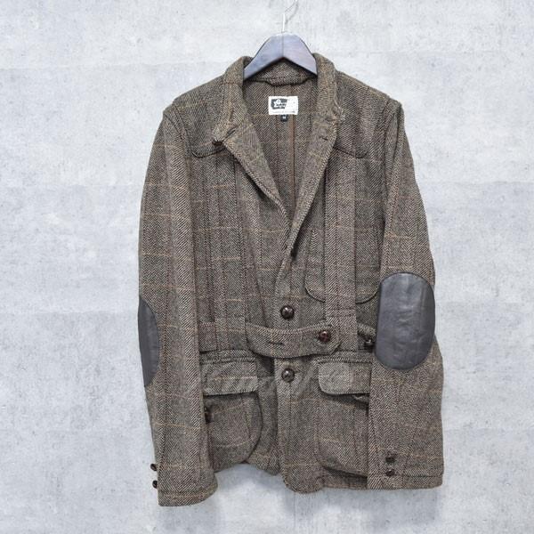 【中古】Engineered Garments ノーフォークジャケット ブラウン サイズ:M 【送料無料】 【191018】(エンジニアードガーメンツ)