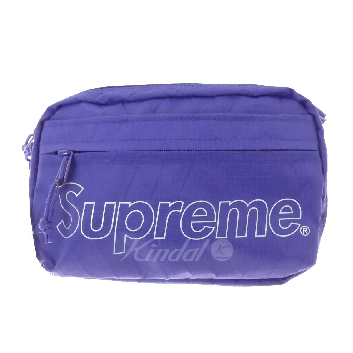 【中古】SUPREME ショルダーバッグ Shoulder Bag 2018A/W パープル サイズ:- 【送料無料】 【191018】(シュプリーム)