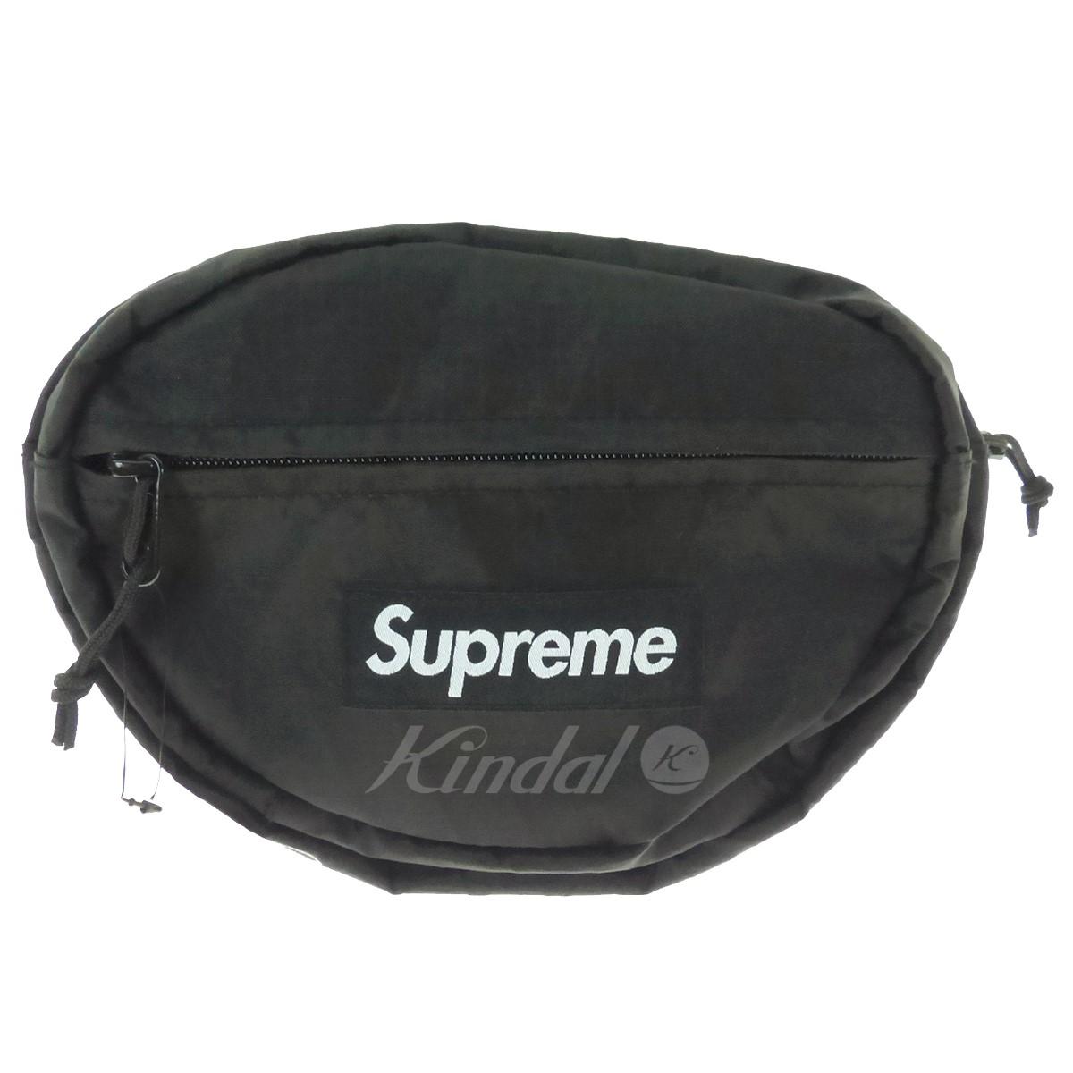 【中古】SUPREME ウエストバッグ Waist Bag 2018A/W ブラック サイズ:- 【送料無料】 【191018】(シュプリーム)