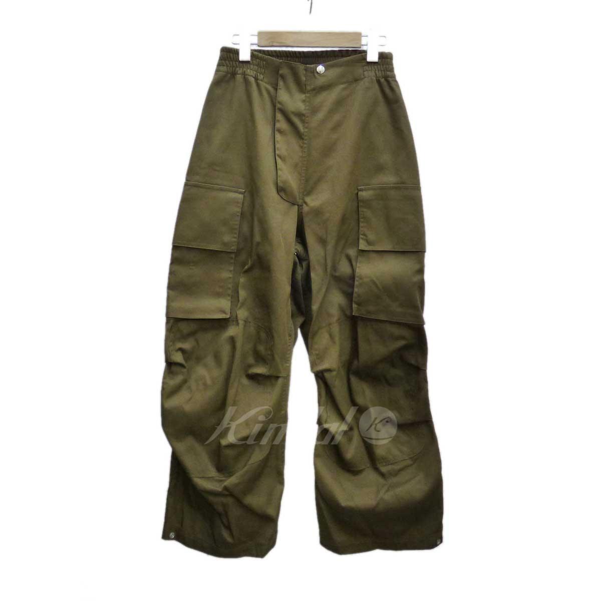 【中古】Hed Mayner WORKWEAR PANTS ワークパンツ 【送料無料】 【147601】 【KT1636】 【返品不可】