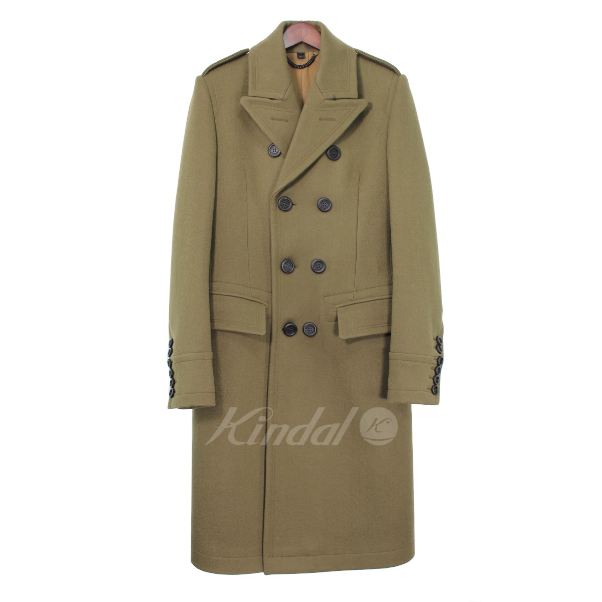 【中古】BURBERRY PRORSUM COLLECTION ミリタリーPコート 【送料無料】 【000457】 【KIND1550】