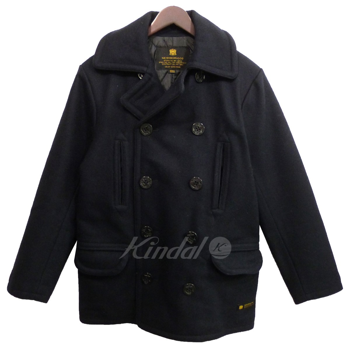 【中古】NEIGHBOR HOOD 2016AW「P/WN-COAT」Pコート 【送料無料】 【015943】 【KIND1550】