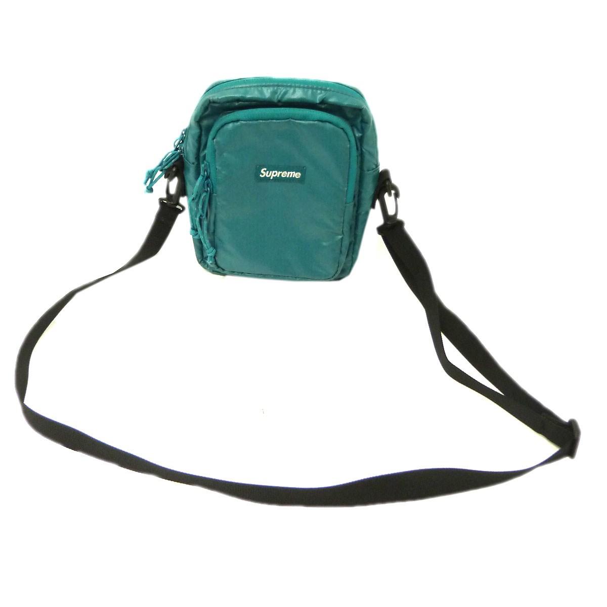 【中古】SUPREME 17AW「Shoulder Bag」ショルダーバッグ グリーン サイズ:- 【送料無料】 【201018】(シュプリーム)