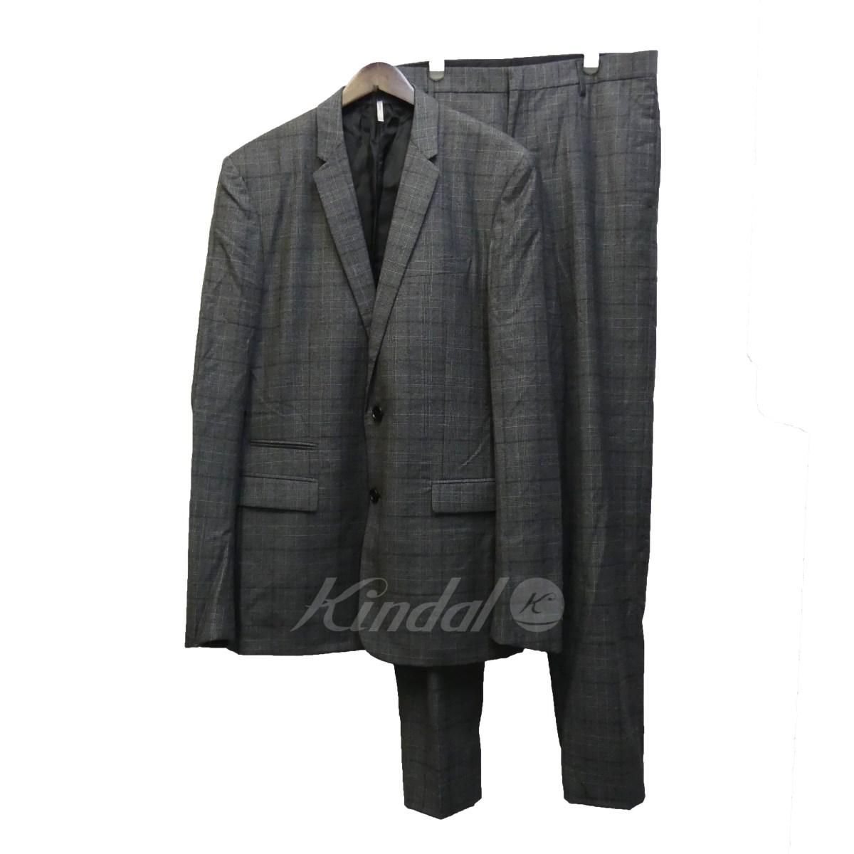 【中古】Dior Homme 12AW グレンチェックセットアップスーツ 【送料無料】 【107436】 【KIND1550】