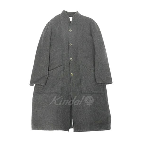 【中古】Araki Yuu Ateliel Coat ウール ロング コート ダークグレー サイズ:1 【送料無料】 【211018】(アラキユウ)