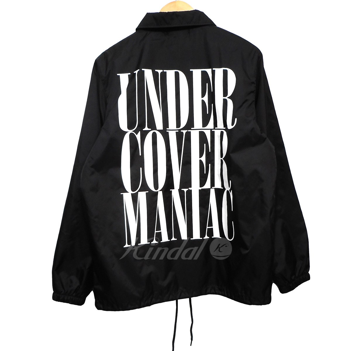 【中古】UNDER COVER 17AW ナイロンコーチジャケット UC MANIAC ブラック サイズ:M 【送料無料】 【201018】(アンダーカバー)