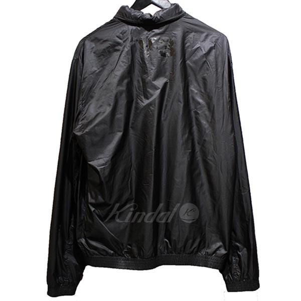 【中古】Y-3 バックロゴ ウインドブレーカー ブラック サイズ:M 【送料無料】 【201018】(ワイスリー)