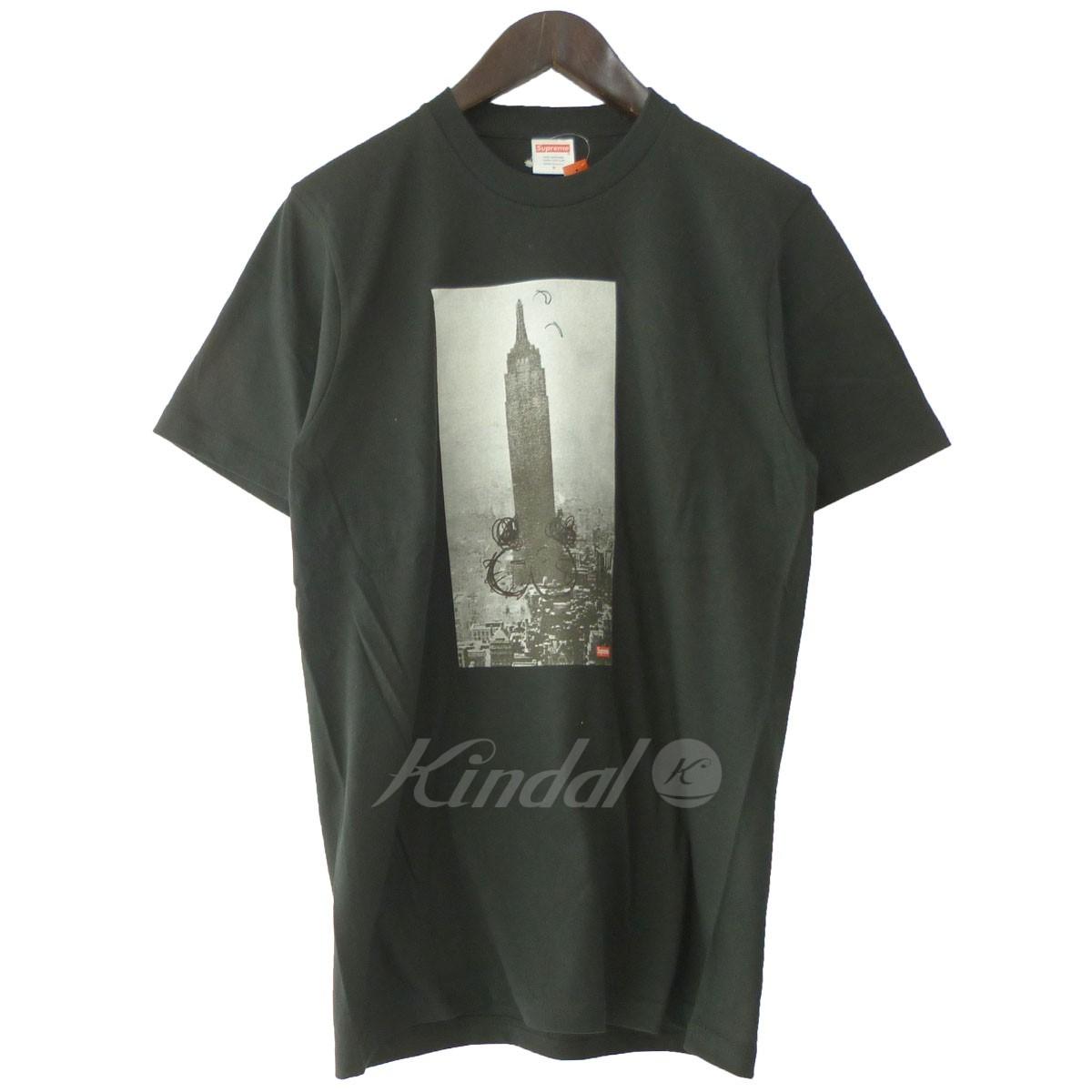 【中古】SUPREMExMike Kelley 18AW 「The Emire State Building Tee」エンパイアステートビルTシャツ ブラック サイズ:S 【送料無料】 【221018】(シュプリーム マイクケリー)