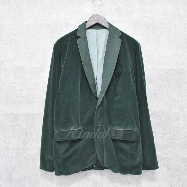 【中古】Tapia LOS ANGELS ベロア2Bジャケット グリーン サイズ:36 【送料無料】 【221018】(タピアロサンゼルス)