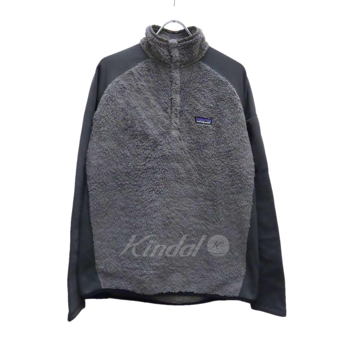 【中古】patagonia Synchilla Fleece Jacket フリースジャケット グレー サイズ:M 【送料無料】 【221018】(パタゴニア)