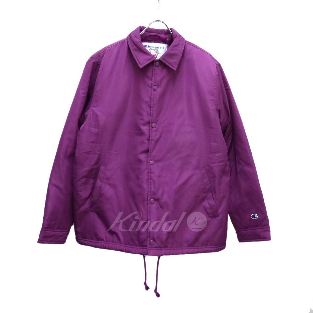 【中古】SUPREME×Champion Label Coaches Jacket ブルゾン 【送料無料】 【155620】 【KT1544】 【返品不可】