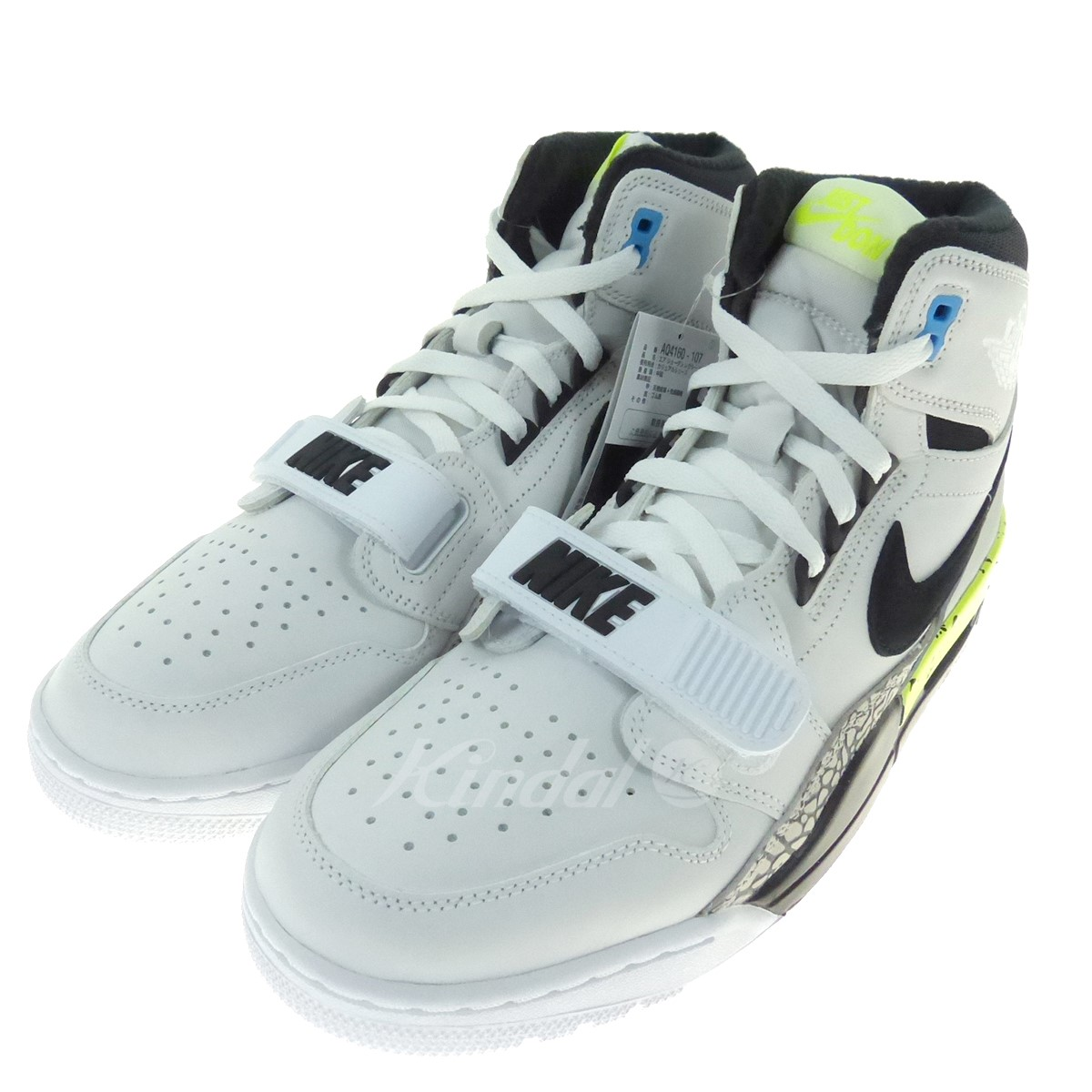 info for e4efa 5eb54 NIKE X DON C AIR JORDAN LEGACY 312 higher frequency elimination sneakers  white X gray X fluorescence green size: 28 5cm (Nike)