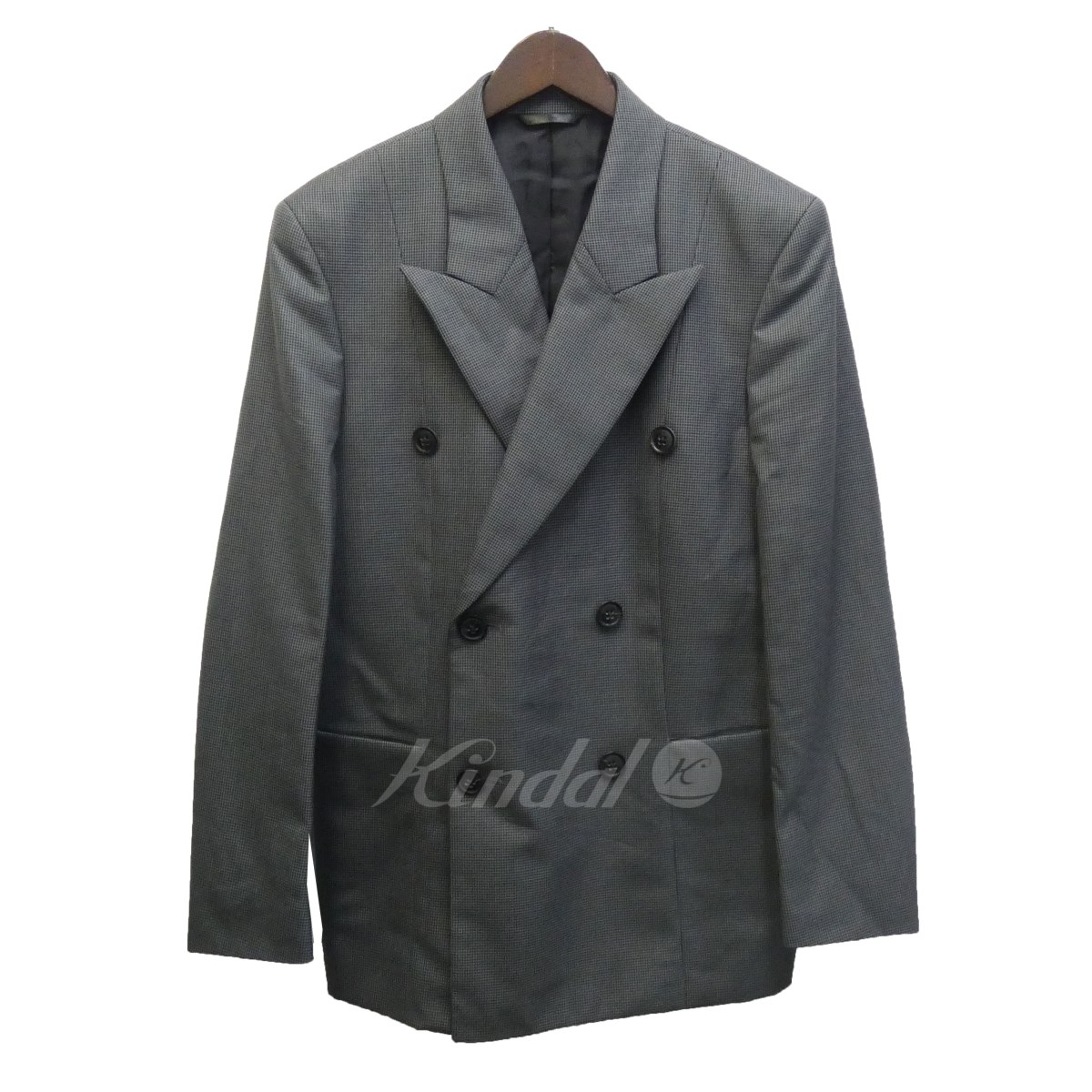 【中古】Paul Smith 15AW 「HOUNDTOOTH DOUBLE-BREASTED JACKET」千鳥格子ジャケット 【送料無料】 【107924】 【KIND1550】