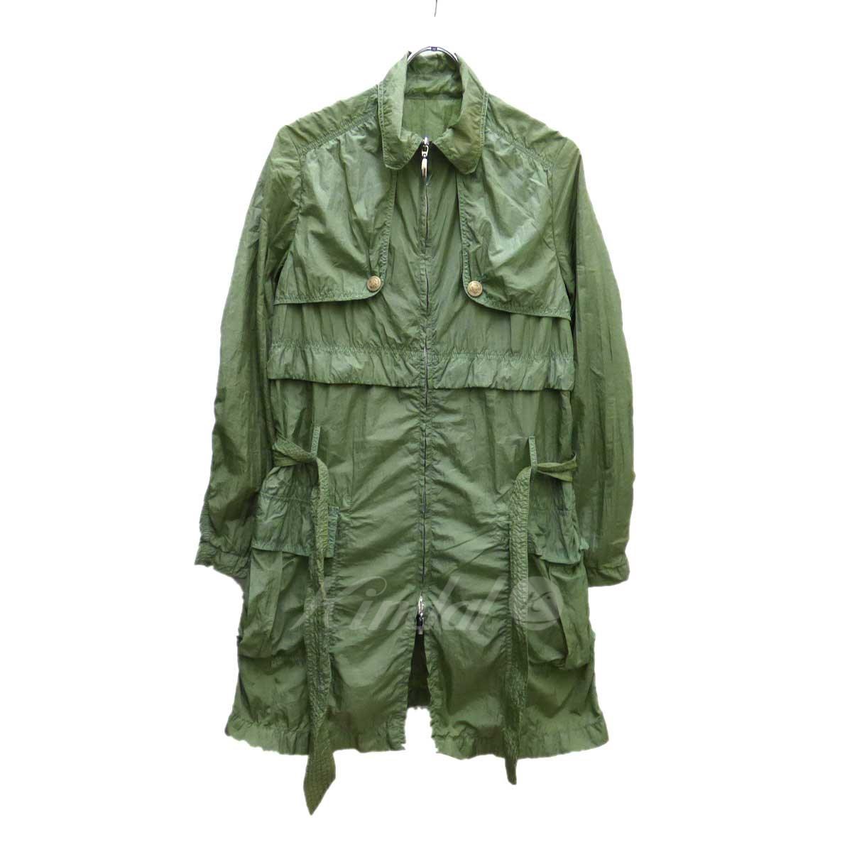【中古】TONELLO デザインコート オリーブ サイズ:40 【送料無料】 【231018】(トネッロ)