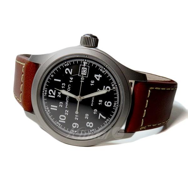 【中古】HAMILTON 【H684112】カーキフィールド クォーツ腕時計 文字盤:ブラック 【送料無料】 【231018】(ハミルトン)