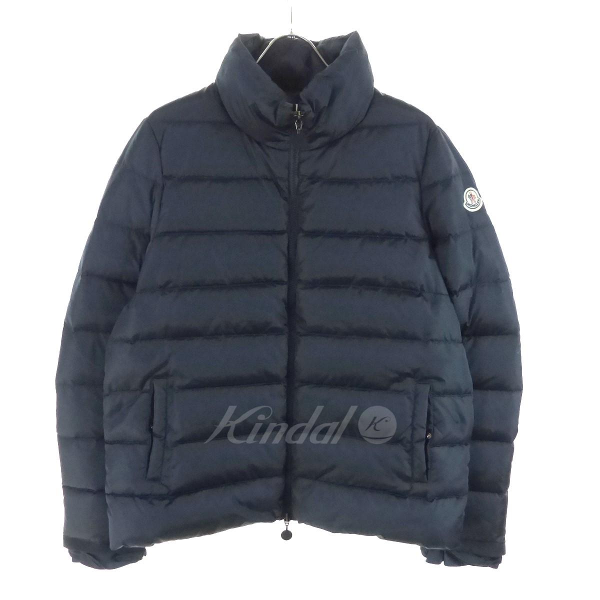 【中古】MONCLER SEIRA ダウンジャケット ネイビー サイズ:3 【送料無料】 【231018】(モンクレール)