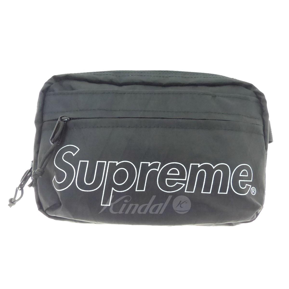 【中古】SUPREME 18AW Shoulder Bag ショルダーバッグ ブラック サイズ:- 【送料無料】 【231018】(シュプリーム)