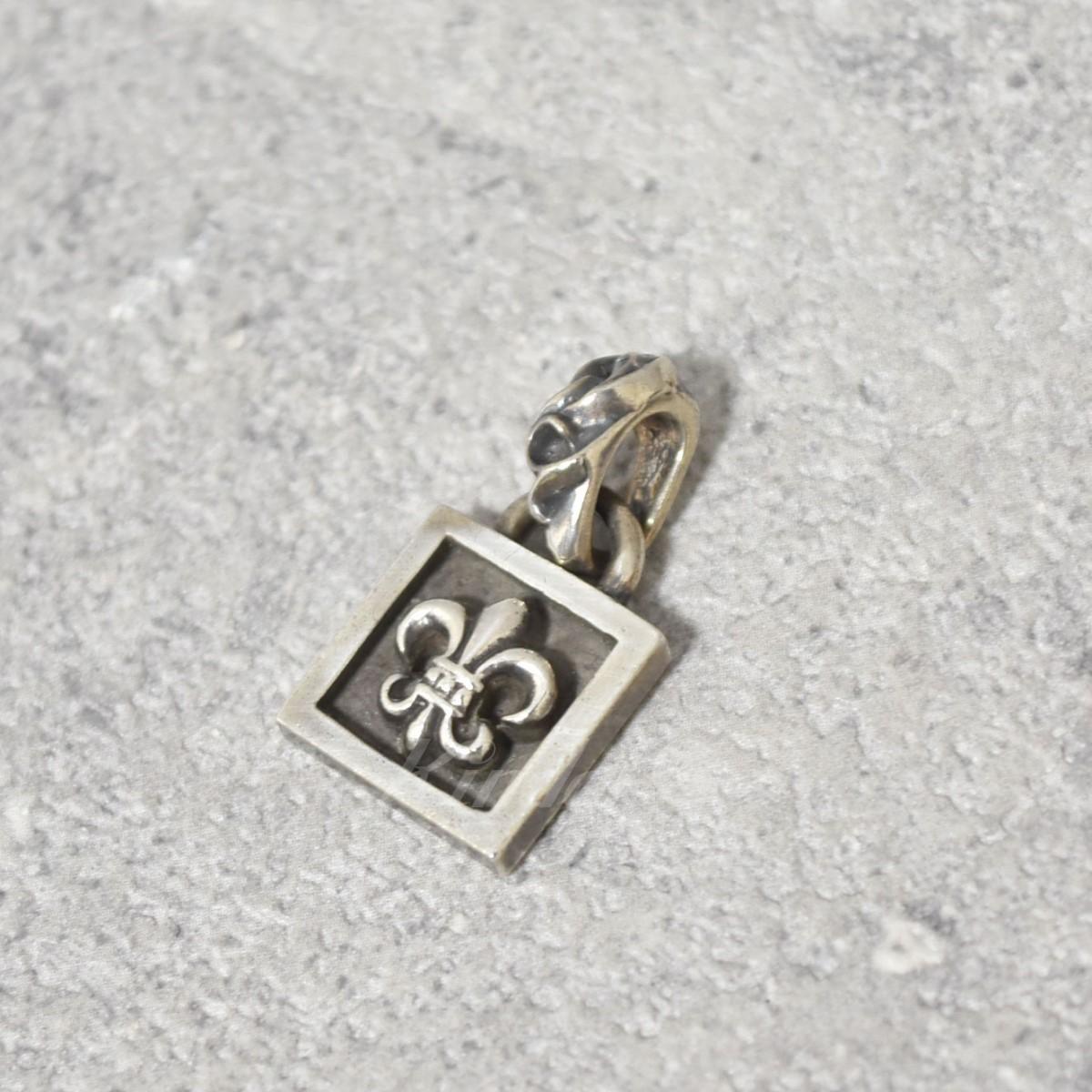【中古】CHROME HEARTS framed BS fleur charm BSフレアチャーム ペンダントトップ シルバー 【送料無料】 【231018】(クロムハーツ)