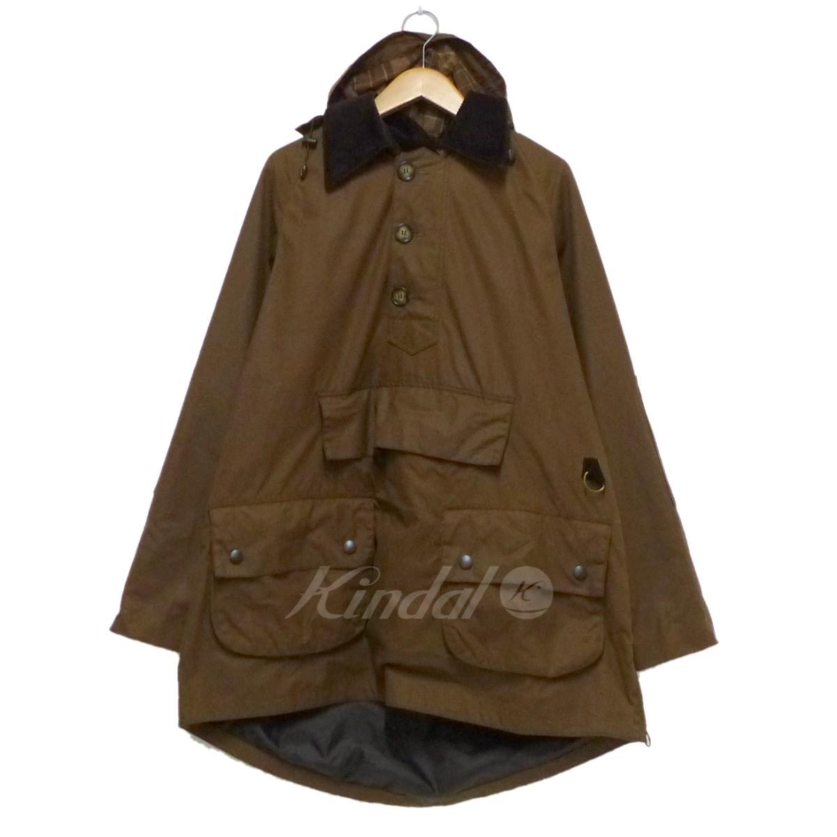 【中古】Barbour KONG SHOREMAN オイルドプルオーバージャケット ブラウン サイズ:40 【送料無料】 【231018】(バーブァー)