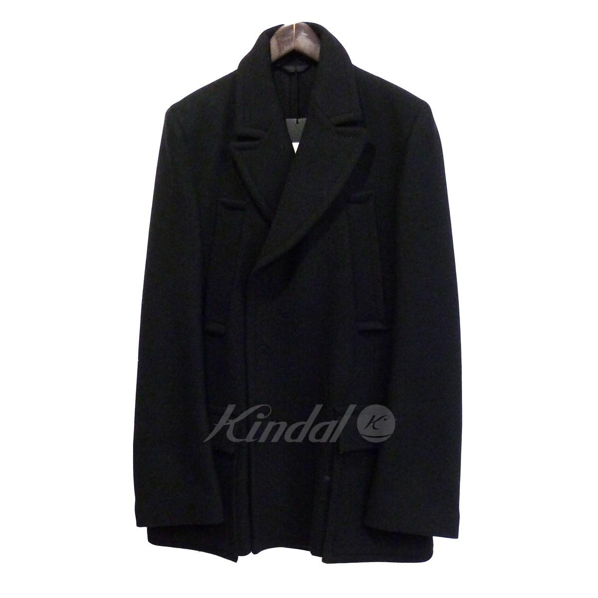 【中古】ANN DEMEULEMEESTER ウールコート ブラック サイズ:XS 【送料無料】 【231018】(アンドゥムルメステール)