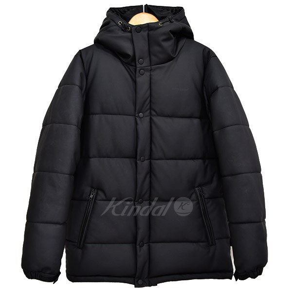 【中古】APPLEBUM Synthetic Leather Inner Cotton Jacket 中綿ブルゾン 【送料無料】 【009452】 【KIND1550】