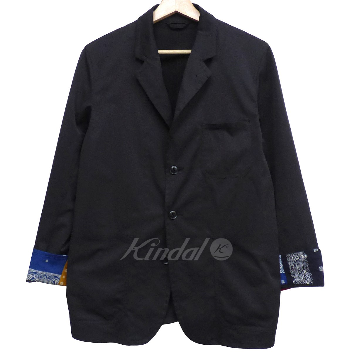 【中古】SOPHNET. 18AW 3BUTTON JACKET FABRIC BY SOLOTEX3Bポリエステルジャケット 【送料無料】 【002362】 【KIND1550】