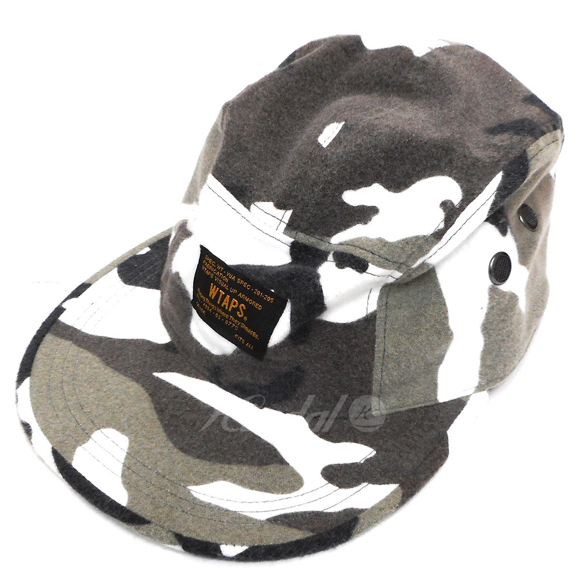 40a926ff kindal: WTAPS 17AW T-5 02/CAP COTTON FLANNEL CAMO Urban duck size: F ...
