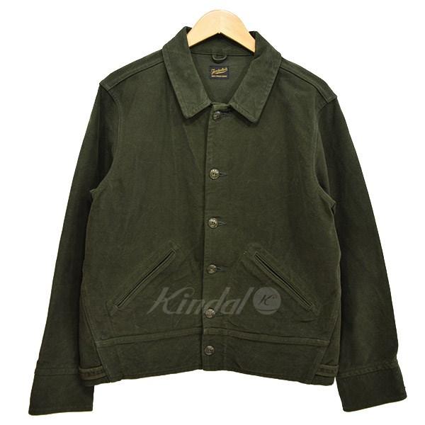 【中古】TENDERLOIN T-MOLESKIN JKT モールスキン ジャケット 2013AW オリーブ サイズ:S 【送料無料】 【251018】(テンダーロイン)