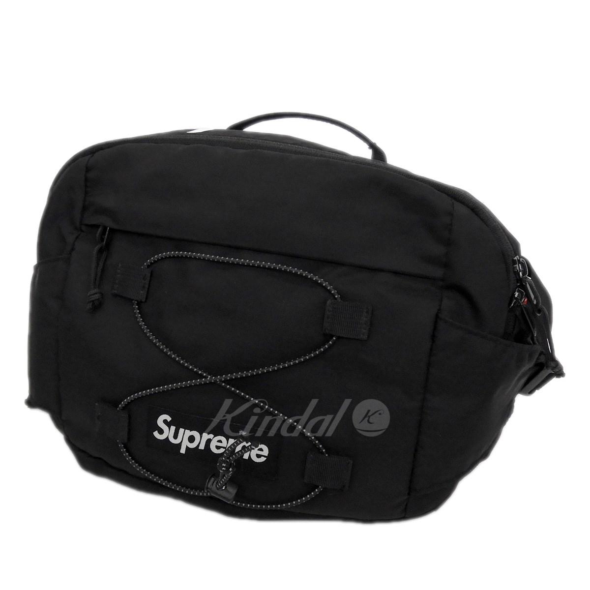 【中古】SUPREME 2017SS 「Waist Bag」ウエストバッグ ブラック サイズ:- 【送料無料】 【251018】(シュプリーム)
