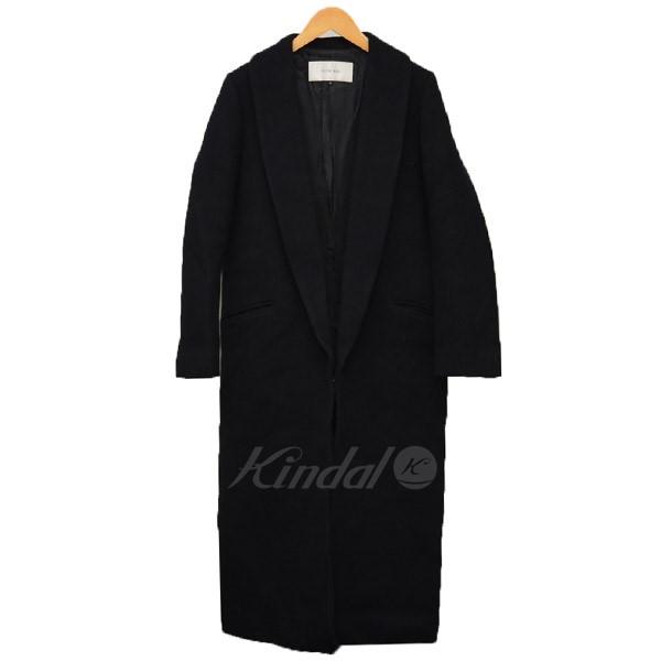 【中古】LE CIEL BLEU ショールカラー ウールコート コート 【送料無料】 【002302】 【KIND1641】