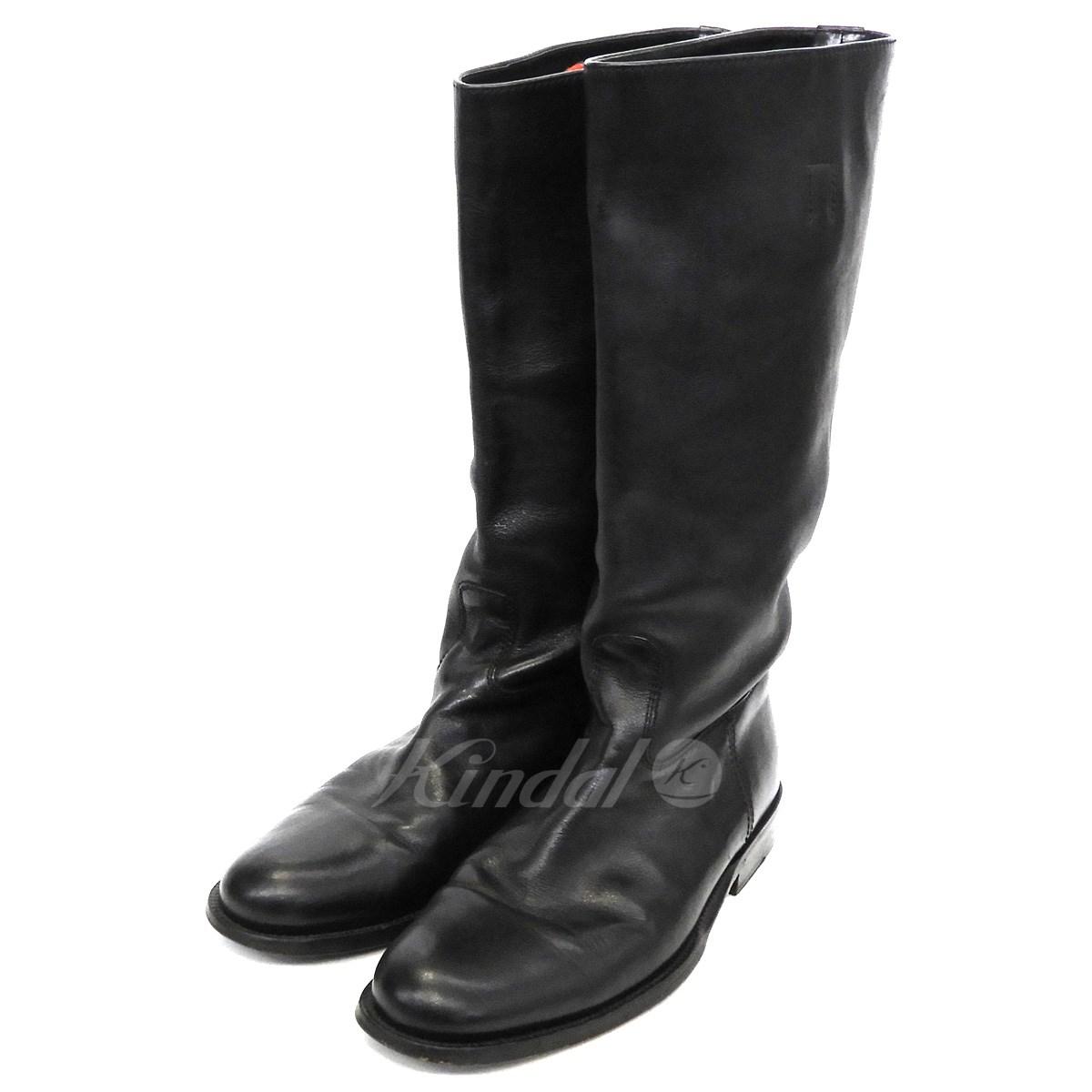 【中古】GUCCI ロングブーツ ブラック サイズ:39 1/2 【送料無料】 【261018】(グッチ)