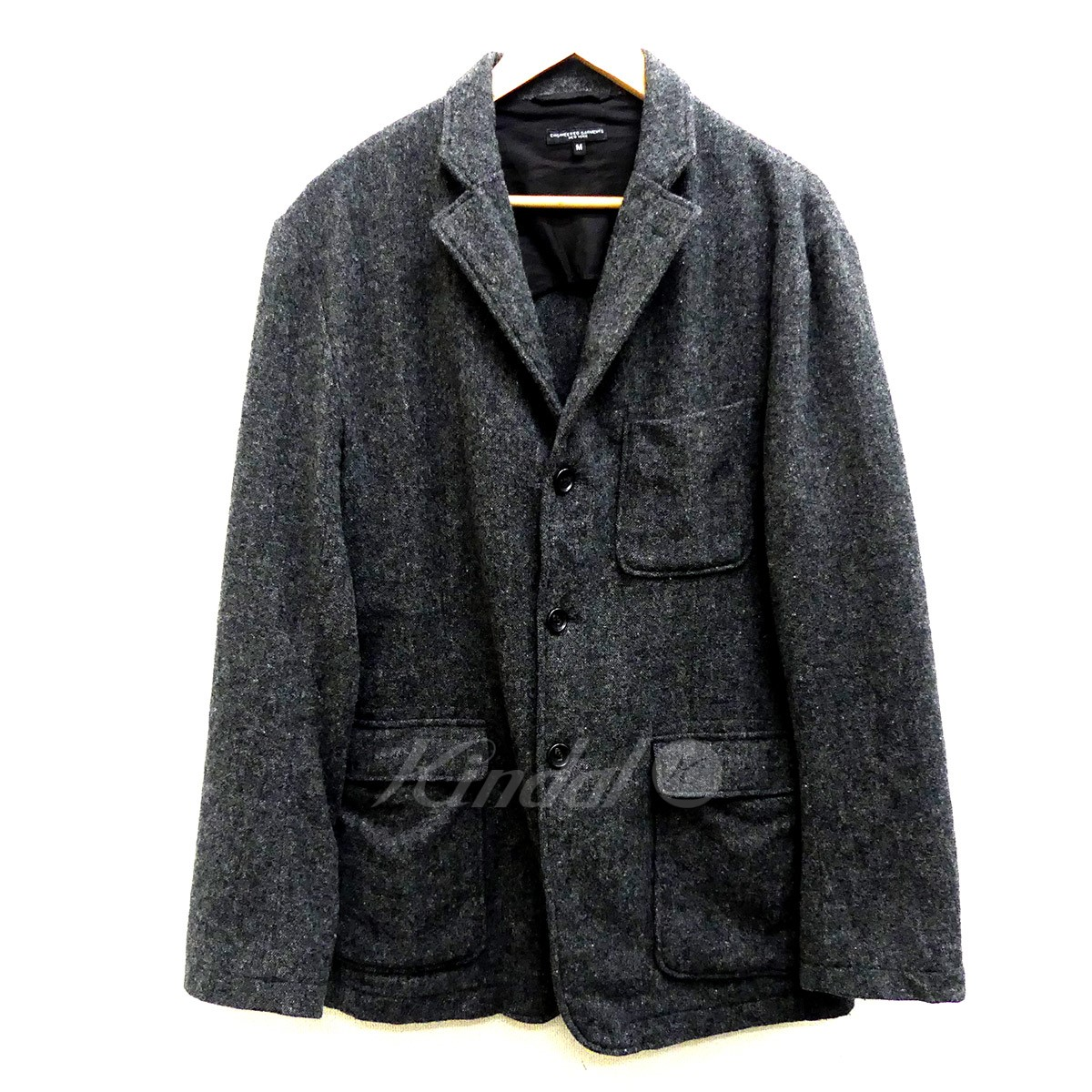 【中古】Engineered Garments Baker Jacket Wool Homespun ウールジャケット 【送料無料】 【150122】 【KIND1550】
