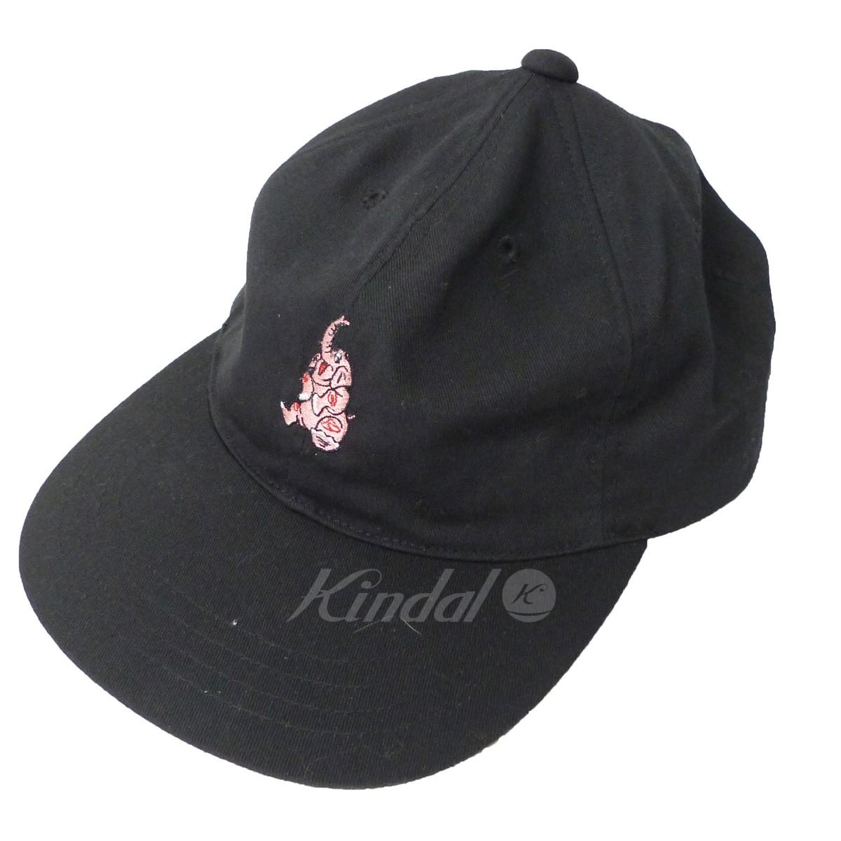 【中古】DESCENDANT 17AW「PINKEY/MIAMI TWILL CAP」ピンキーマイアミキャップ ブラック サイズ:- 【送料無料】 【261018】(ディセンダント)